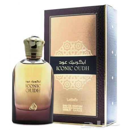Lattafa Iconic OUDH arabiškas unisex aromatas skirtas moterims ir vyrams, EDP, 100ml.