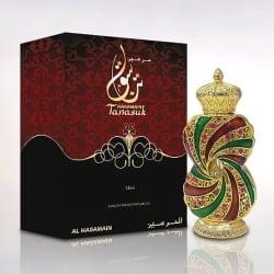 Al Haramain Tanasuk originalus arabų gamintojo kvepalų aliejus, 12ml.