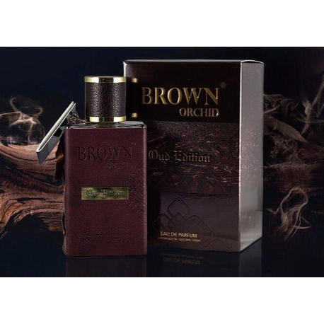Fragrance World Brown Orchid Oud Edition arabiški kvepalai, EDP, 80ml.