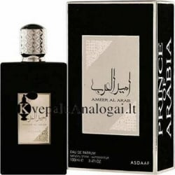 Lattafa ASDAAF Ameer Al Arab stiprus medienos aromatas vyrams ir moterims, EDP, 100ml.