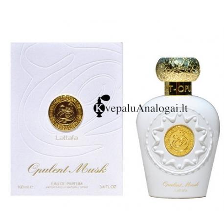 Lattafa Opulent Musk aromatas moterims ir vyrams, EDP, 100ml.