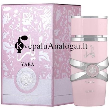 Lattafa Yara arabiški kvepalai moterims, 100ml, EDP.