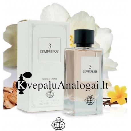 D&G 3 l'imperatrice (Lemperesse 3 Pour Femme) aromato arabiška versija moterims, 100ml, EDP.