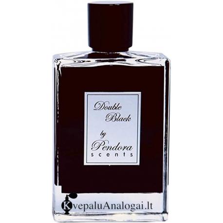 Kilian back to Black (Double Black by Pendora) aromato arabiška versija moterims ir vyrams, 50ml, EDP.