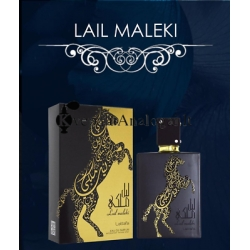 Lattafa Lail Maleki originalus arabiškas aromatas moterims ir vyrams, 100ml, EDP.
