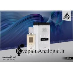 Lattafa Ana Abiyedh originalūs arabiški kvepalai moterims ir vyrams, EDP, 30ml.