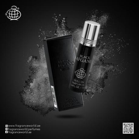 Aliejiniai kvepalai Black Afgano aromato arabiška versija moterims ir vyrams, 10ml.