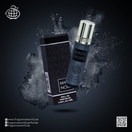 Aliejiniai kvepalai Antonio Banderes Seduction in Black (Magie Noire) aromato arabiška versija vyrams, 10ml.
