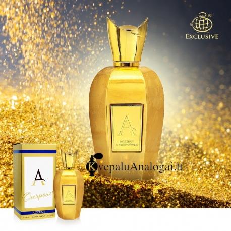 Xerjoff Accento Overdose (Accent Overpower) aromato arabiška versija moterims ir vyrams, EDP, 100ml.