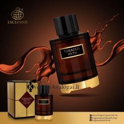 Mystery Tobacco aromatas moterims ir vyrams, atitinka kvapa ir puikiai išlieka, 100ml, EDP