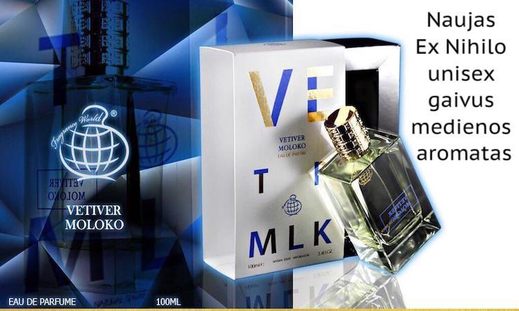 Vetiver Moloko Ex Nihilo aromatas moterims ir vyrams, unisex, 100ml, EDP
